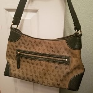 Authentic Dooney & Bourke Bag Signature Green